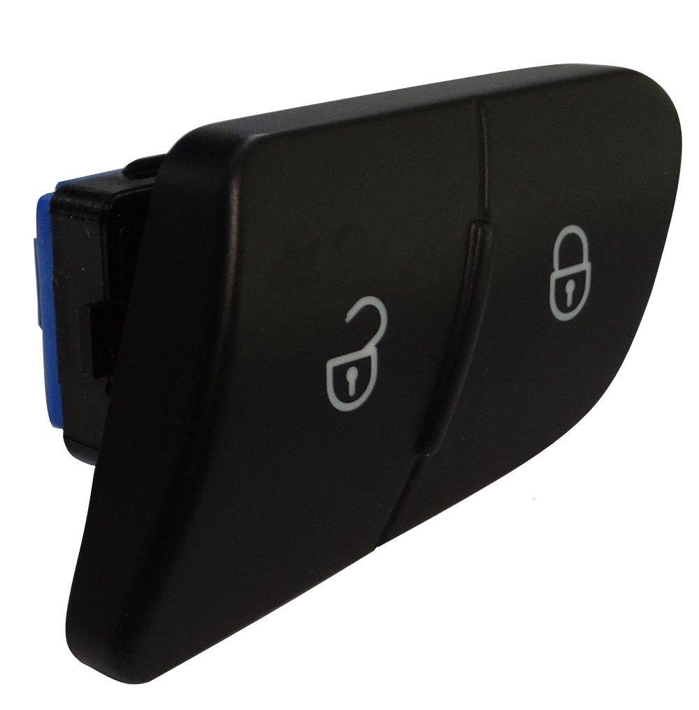 Aerzetix: Tü rverriegelung Schalter Tü rverriegelungsknopf Druckschalter von Tü r kompatibel mit 3C0962125B Auto C18706 C18706-AL695