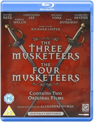 The Three Musketeers / The Four Musketeers - 2-Disc Set ( The 3 Musketeers / The 4 Musketeers ) ( The Revenge of Milady ) [Blu-Ray Region Free] ()