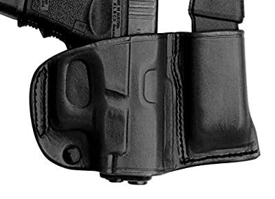 Tagua BSHM-635 Springfield XDS Belt Slide Holster with Magazine Carrier, Black, Right Hand