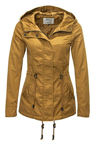 Parka Golden Only Jacket Spring Onllorca Brown xrgtwgT