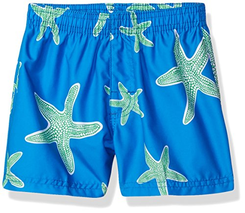 Kanu Surf Baby Boys Starfish Sea Life Quick Dry Beach Board Shorts Swim Trunk, Royal Blue, 24 Months