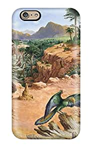 Iphone 6 Case Cover - Slim Fit Tpu Protector Shock Absorbent Case (dinosaur)