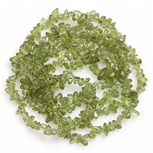 Peridot Chip Beads - 1