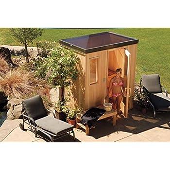 Amazoncom Precut Sauna Finlandia 6 x 8 FPC68 Steam Baths