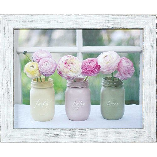 Dicksons Faith, Hope, Love Mason Jar Bouquet Spring Pastels