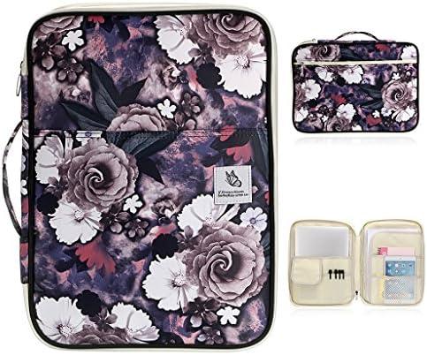 BTSKY Multi Functional Portfolio Organizer Waterproof Notebooks