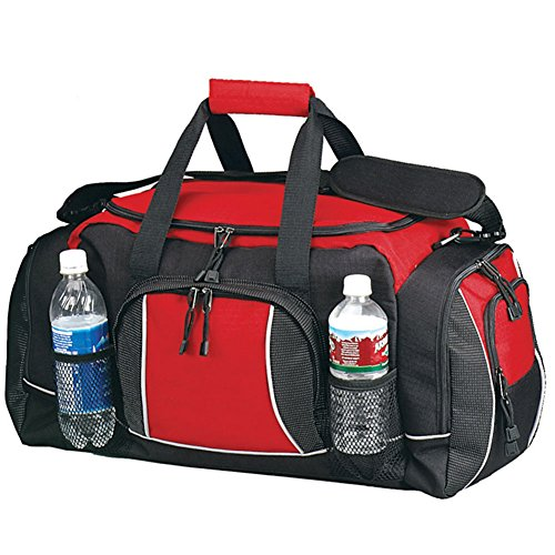 Preferred Nation The Large Fitness/Gym, Gym Duffel Color, 23″ L, Red Review