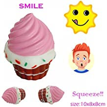 Gocheaper Squishy Toy,New Simulation Ice cream Slow Rising Collection Squeeze Stress Reliever Toy