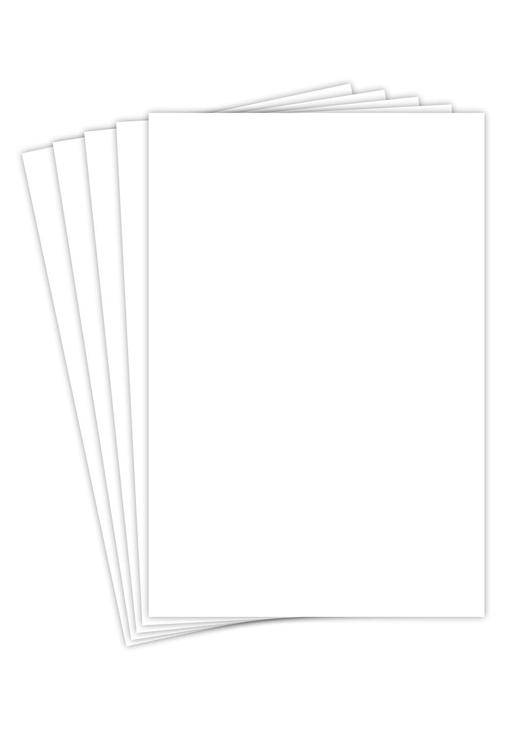 Heavyweight White Smooth Cover Stock - 110lb. / 297 gsm - Size 12'' X 18'' - 50 Per Pack
