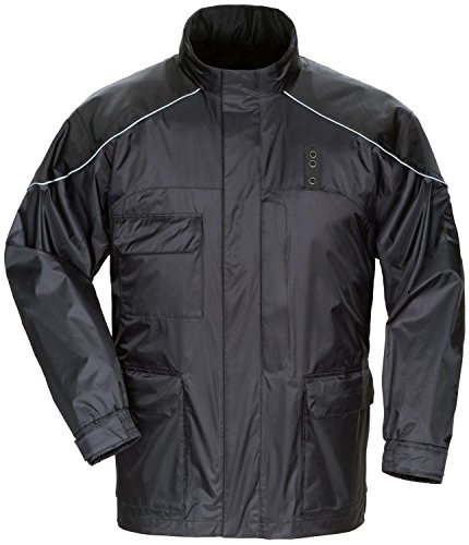 Tourmaster Mens Sentinel LE Motor Officer Rainsuit Jacket - 2X-Large