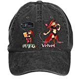 Nusajj Odin Sphere Leifdrasir Velvet Unstructured 100% Cotton Hats Design for Man Black One Size