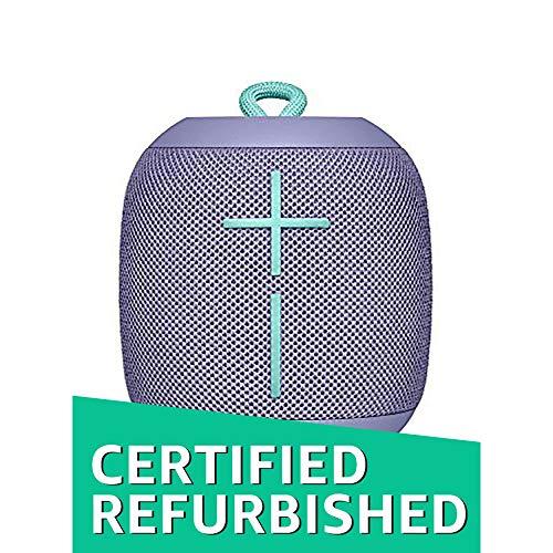UE WONDERBOOM Super Portable Waterproof Bluetooth Speaker, (Certified Refurbished) (Lilac)