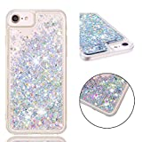iPhone 6s Case, FOLICE Liquid Case, [Liquid Series] Flowing Liquid Floating Luxury Bling Glitter Sparkle Fashion Creative Design Diamond Hard Case for Apple iPhone 6 / iPhone 6s (Silver)