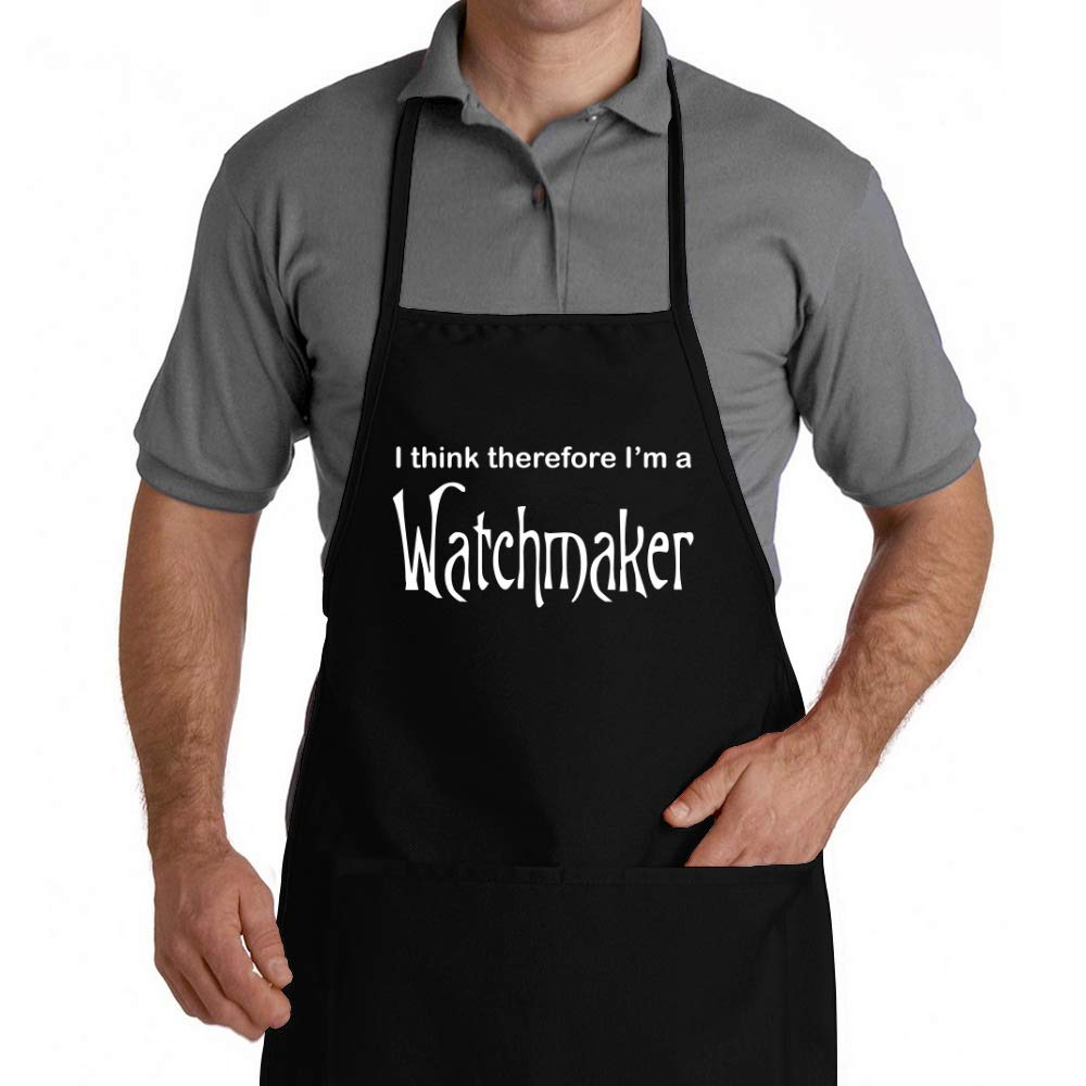 Eddany I think therefore Im Watchmaker Apron