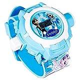 Generic Frozen Princess 24 Images Projector Watch - Blue