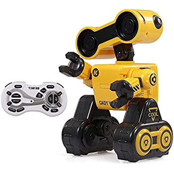 Amazon com: Boxer - Interactive A I  Robot Toy (Black) with