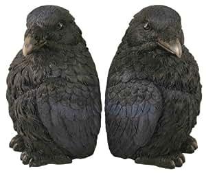 Raven Bookend Set