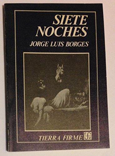 Siete Noches, Jorge Luis Borges