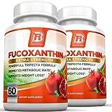 BRI Nutrition Fucoxanthin - Maximum Strength Extract Plus Supplement - 60 Capsules 2-Pack