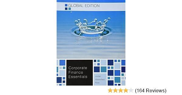 Amazon corporate finance essentials 9781259008030 amazon corporate finance essentials 9781259008030 westerfield ross jordan books fandeluxe Choice Image
