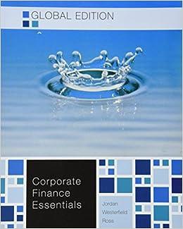 Amazon corporate finance essentials 9781259008030 amazon corporate finance essentials 9781259008030 westerfield ross jordan books fandeluxe Gallery
