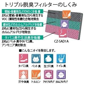 パナソニック エアコン用・脱臭フィルター CZ-SAD3A