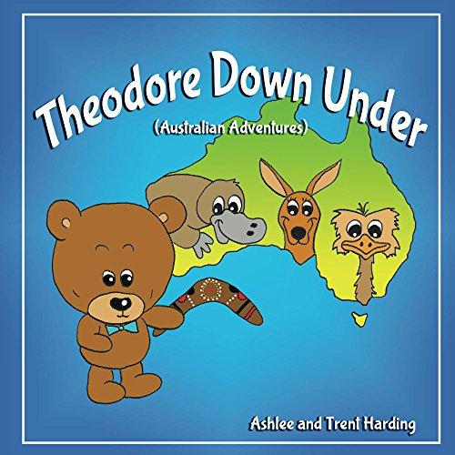 Australian Children's Book: Theodore Down Under - Australian Adventures (Theodore Travel Series Book 1) (Spider Postcard)