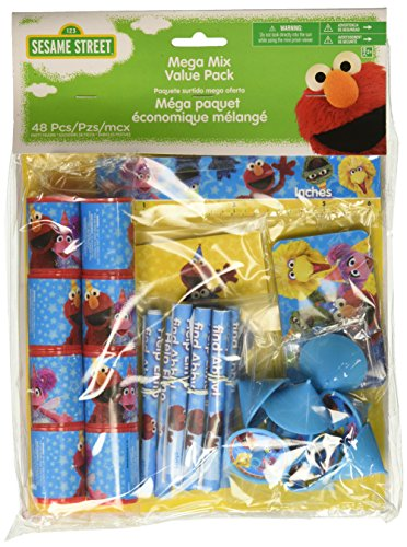 Mega Mix Favors | Sesame Street Collection | Party Accessory]()