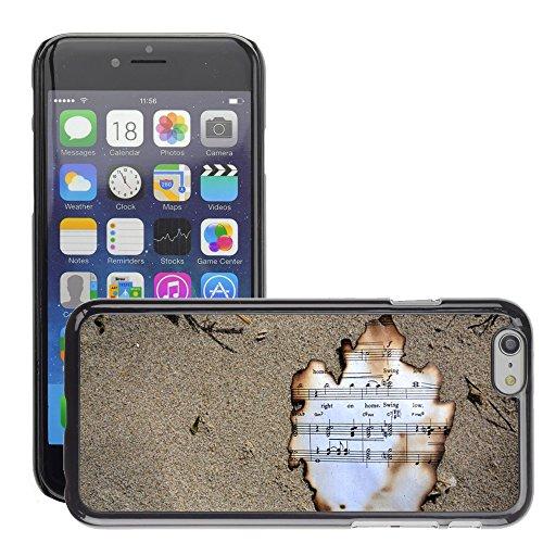 """Just Phone Cases Hard plastica indietro Case Custodie Cover pelle protettiva Per // M00421753 Burnt Musique Oregon Cannon Beach Music // Apple iPhone 6 6S 6G PLUS 5.5"""""""