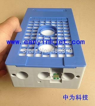 depósito de tinta ARBUYSHOP Envío libre del tanque de residuos de mantenimiento con la viruta del ARCO para la impresora plotter SureColor F6070 F7070 F7000 F6000: Amazon.es: Electrónica
