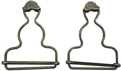 6 x peto-clips peto-hebilla tirantes-clip peto-soporte