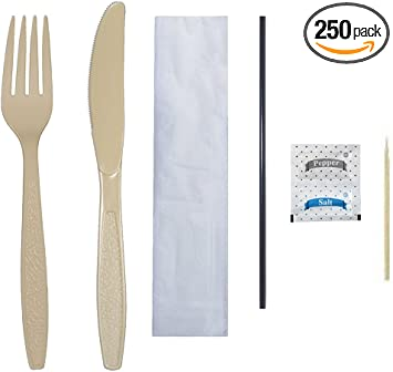 pack of 40 SALT and PEPPY Disposable Spoons