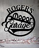 Mopar Hot Rod Garage - Personalized Custom 23'' x 21.5'' Steel Workshop Sign - Metal Wall Art