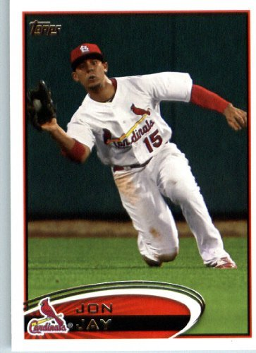 2012 Topps Baseball Card #258 Jon Jay - St. Louis Cardinals - MLB Trading Card