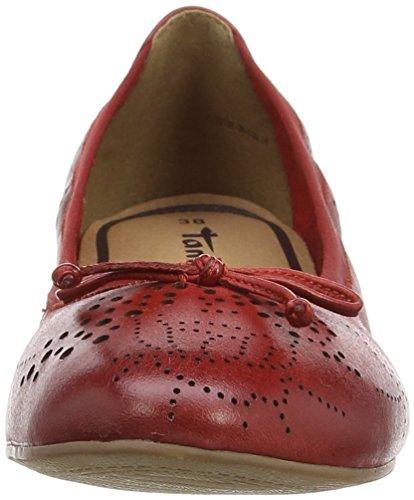 Tamaris 22132 - Bailarinas Mujer Rojo - rojo (Chili 533)