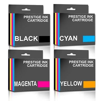 Prestige Cartridge 4 x Compatible LC-123 Cartuchos de Tinta para ...