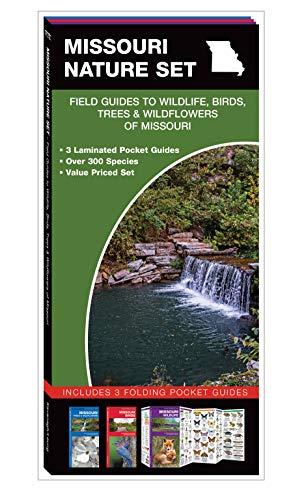 Missouri Nature Set: Field Guides to Wildlife, Birds, Trees & Wildflowers of Missouri