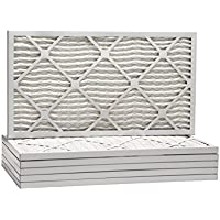 20x25x1 Ultra Allergen Merv 11 Pleated Replacement AC Furnace Air Filter (6 Pack)