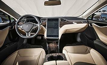 Tesla Model S Custom >> Autoheatshield Sunshade For Tesla Model S Model S 2012 2013 2014 2015 2016 2017 2018 2019 Custom Fit Windshield Sunshade