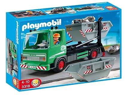 Playmobil Skip Truck