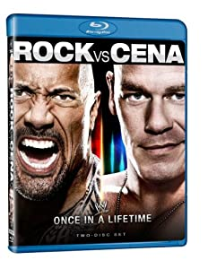 Cover Image for 'WWE: The Rock vs. John Cena - Once in a Lifetime'