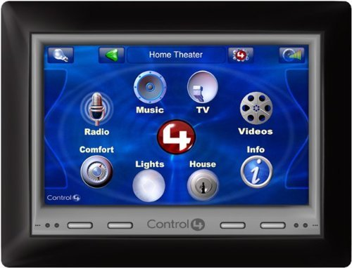Home Automation Control 4 - Control4 C4-TSWM7-EG-B POE/WiFi Wall Mount 7