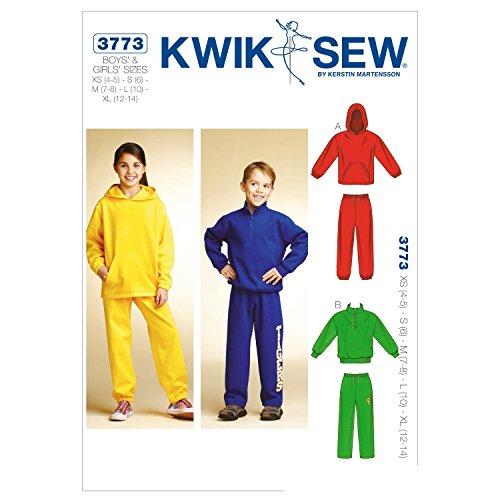 Kwik Sew K3773 Shirts and Pants Sewing Pattern, Size XS-S-M-L-XL