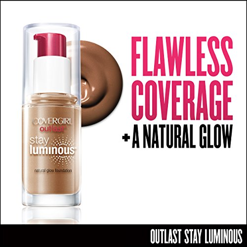 COVERGIRL Outlast Stay Luminous Foundation Soft Sable 875, 1 oz