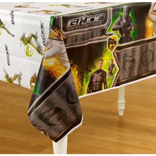 GI JOE Rise of the Cobra Plastic Tablecover Party Accessory -