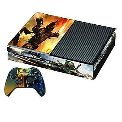 Amazon.com: Boba Fett Premium Designer Xbox One Skin + 2 ... Xbox One Skins Amazon