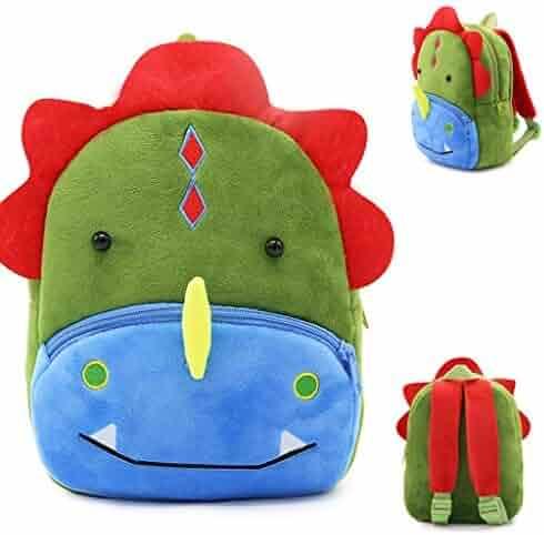 b0abb6e858cc Ymeibe Toddler Kids Backpack Plush Animal Cartoon Mini Children Preschool  Bag Travel Snack Bag for Baby