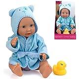 Peterkin - Bambolotto che fa il bagnetto, 41 cm, per bambini a partire dai 18 mesi