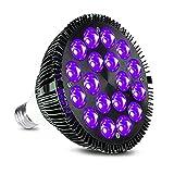Black Light Bulb, KINGBO 36W LED Blacklight Bulbs