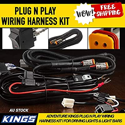 Smart Harness Plug n Play Spotlight Wiring Harness Easy DIY ... on pet harness, pony harness, nakamichi harness, electrical harness, alpine stereo harness, obd0 to obd1 conversion harness, dog harness, radio harness, fall protection harness, battery harness, engine harness, suspension harness, amp bypass harness, maxi-seal harness, safety harness, oxygen sensor extension harness, cable harness,